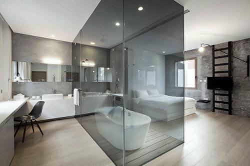10 mooie badkamer ontwerpen interieur inrichting - Kleur idee ruimte zen bad ...
