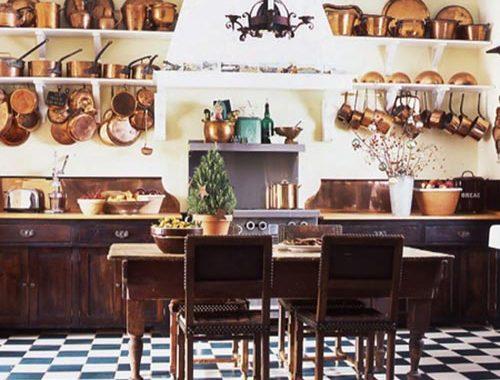 Keuken met antiek uitstraling
