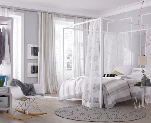 Lichte frisse slaapkamer