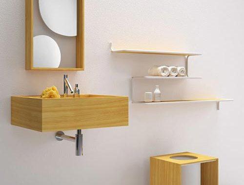 Minimalistische badkamer van Bisazza Bagno