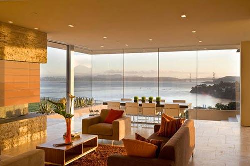 Modern interieur uit San Fransisco