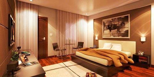 Romantische slaapkamer | Interieur inrichting