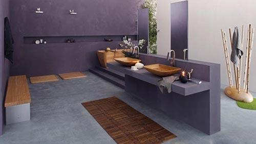 Strakke badkamer van francoceccotti interieur inrichting - Italiaanse design badkamer ...
