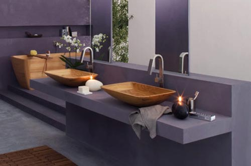 Strakke badkamer van francoceccotti interieur inrichting