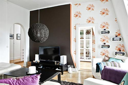 Strakke zachte woonkamer interieur inrichting for Deco woonkamer moderne woonkamer
