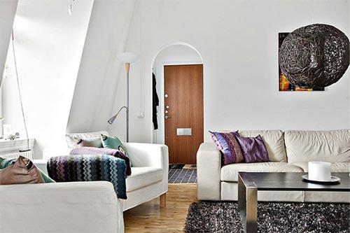 Woonkamer ontwerpen ikea : Strakke zachte woonkamer3