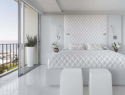 Witte slaapkamers zijn niet saai | Interieur inrichting