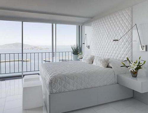 Witte slaapkamers zijn niet saai