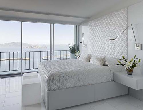Witte Slaapkamer Inrichten : Witte slaapkamers zijn niet saai ...