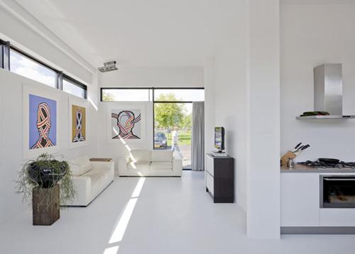 Interieur inrichting villa Aalsmeer