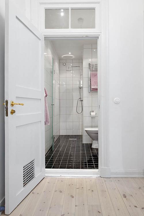 Kleine badkamer in Göteborg | Interieur inrichting