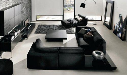 Moderne woonkamer van Boconcept