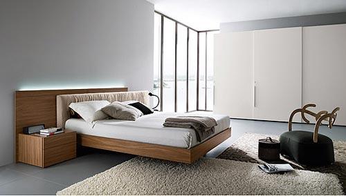 Ideeen Opdoen Slaapkamer : Floating Platform Bed Frame