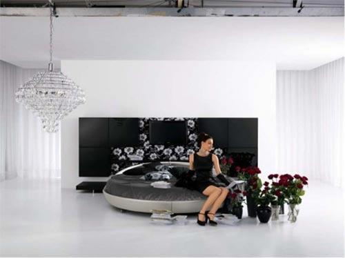 Luxe Slaapkamer Tips : luxe slaapkamer rond bed ronde bedden ...