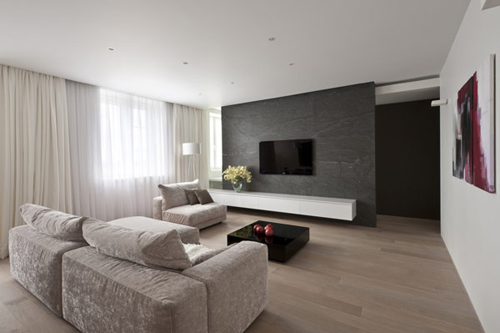 Sobere woonkamer door allexandra fedorova interieur for Sofa interiors studio city
