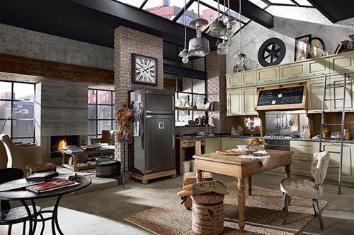 Vintage keuken Nolita van Marchi Group