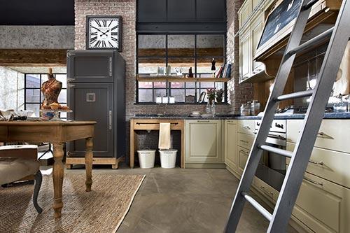 vintage keuken nolita van marchi group interieur inrichting. Black Bedroom Furniture Sets. Home Design Ideas