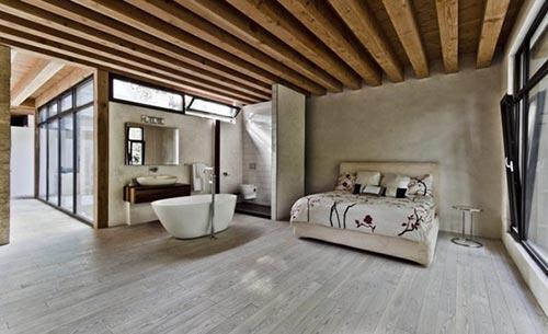 duurzame slaapkamer interieur inrichting