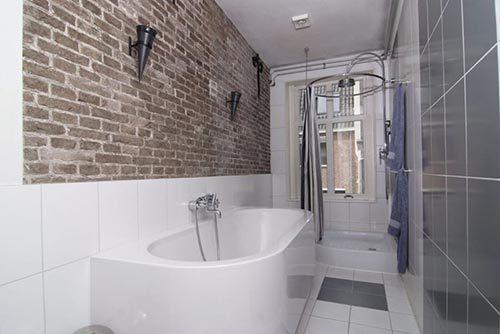 Luxe badkamer herenhuis in Utrecht