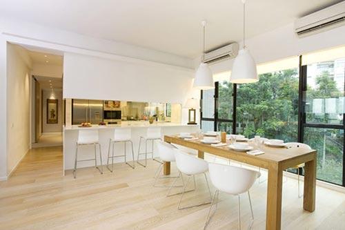 Moderne Open Keukens : Moderne keuken in hong kong interieur inrichting