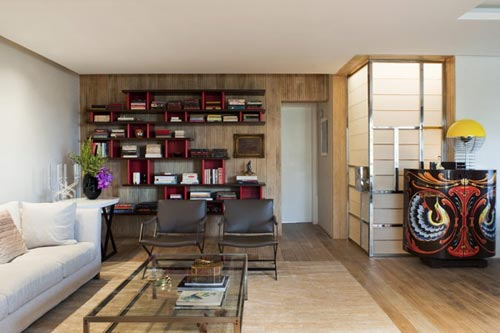 Neutrale Interieur Inrichting : Neutrale woonkamer met duurzame materialen interieur inrichting