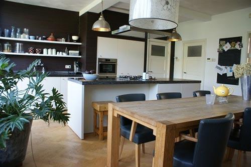 Moderne Keuken In Herenhuis : Woonkeuken herenhuis Interieur ...