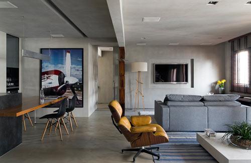 Industriele Interieur Inrichting : Industriële interieur inrichting loft são paulo interieur inrichting