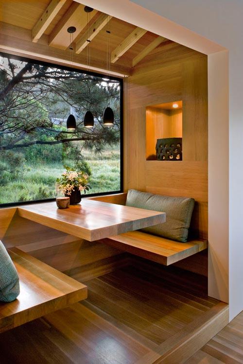 Mooie keuken met zithoek
