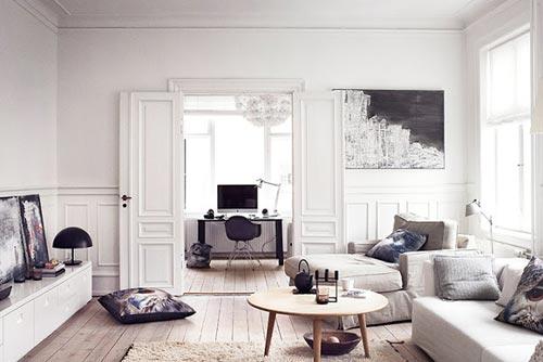 Sfeervolle woonkamer van Hanne Berzant | Interieur inrichting