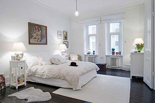 Slaapkamer uit Gotenburg met authentieke details