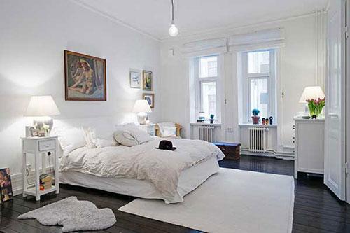 Slaapkamer uit Gotenburg met authentieke details | Interieur inrichting