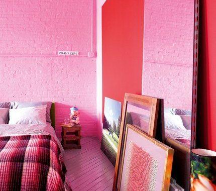 Industriële slaapkamer van David uit New York