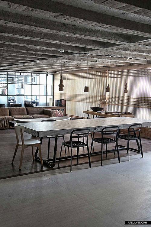 Interieur industriele loft door esestudio interieur for Interieur inrichting