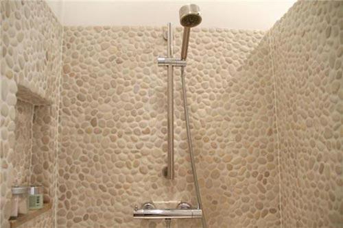 Natuursteen Voor Badkamer : Serene badkamer met natuursteen interieur inrichting