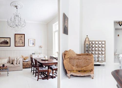 Vintage woonkamer inrichten | Interieur inrichting