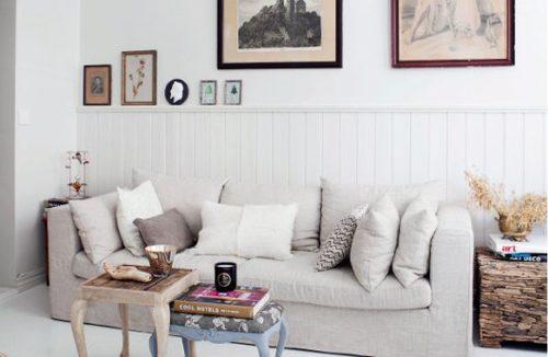 Vintage woonkamer inrichten