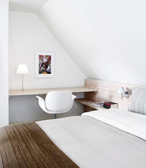 inrichting slaapkamer met schuin dak ~ pussyfuck for ., Deco ideeën
