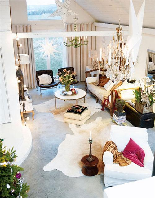 Woonkamer ideeën voor kerst  Interieur inrichting