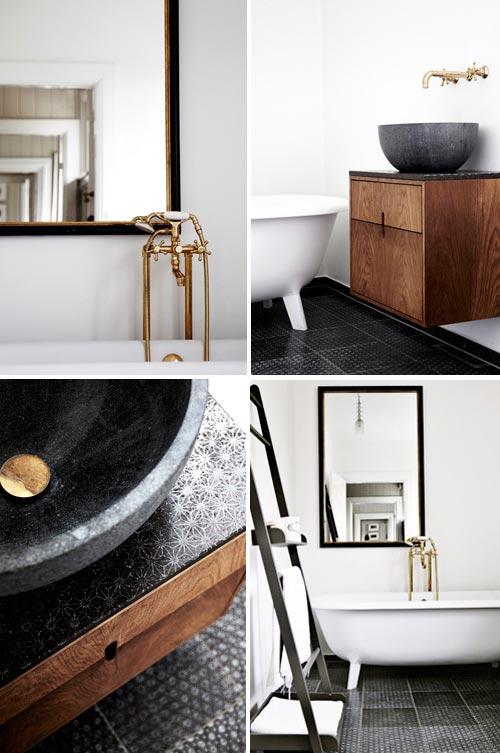 Badkamer ideeën van interieurstylist Stine Langvad  Interieur ...