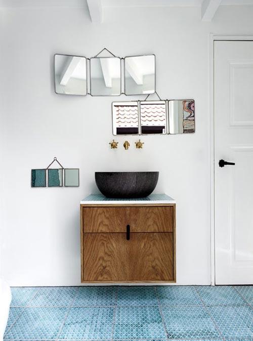 Badkamer ideeën van interieurstylist Stine Langvad