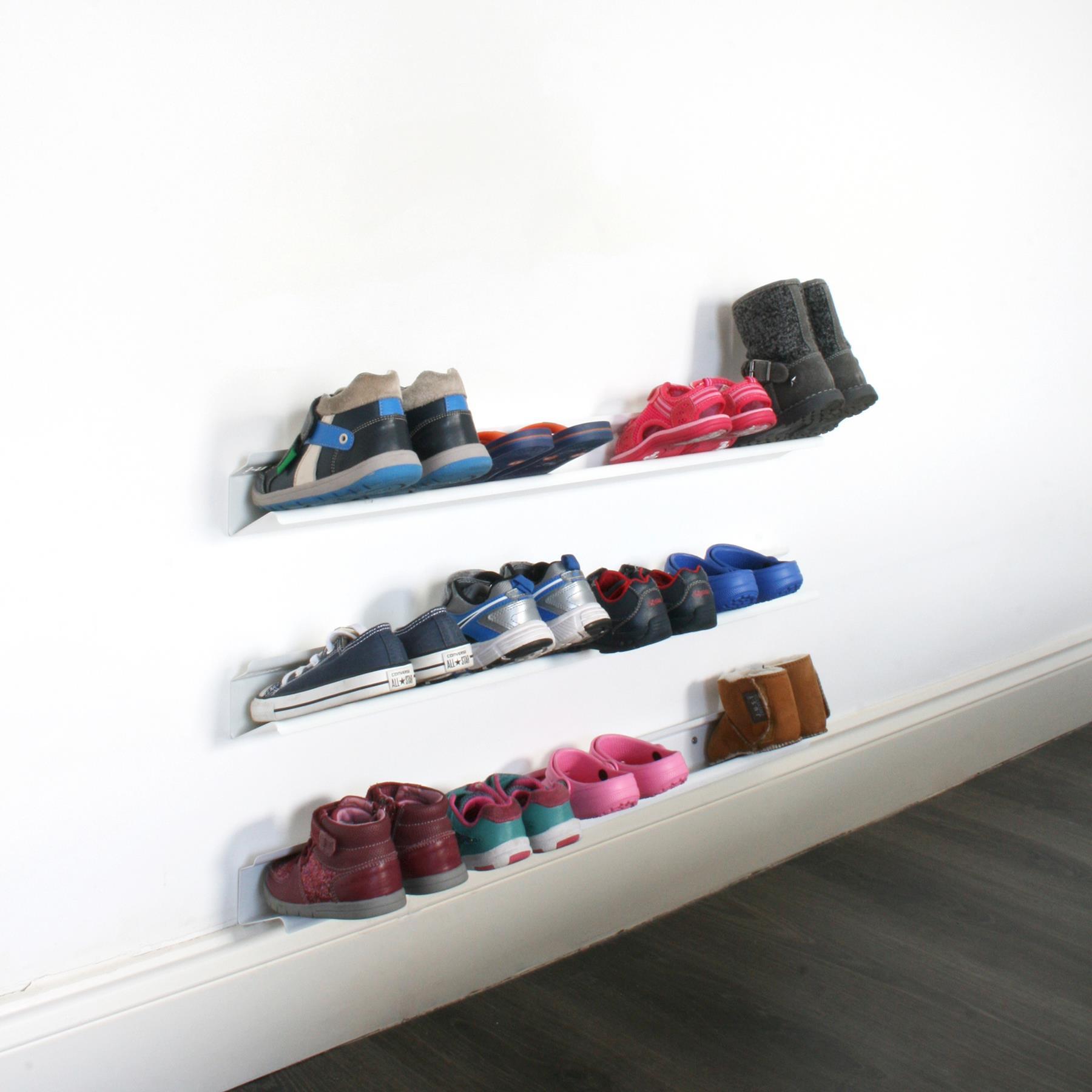 Schoenenrek Voor Aan De Wand.10x Schoenenrekken Shoppen Interieur Inrichting