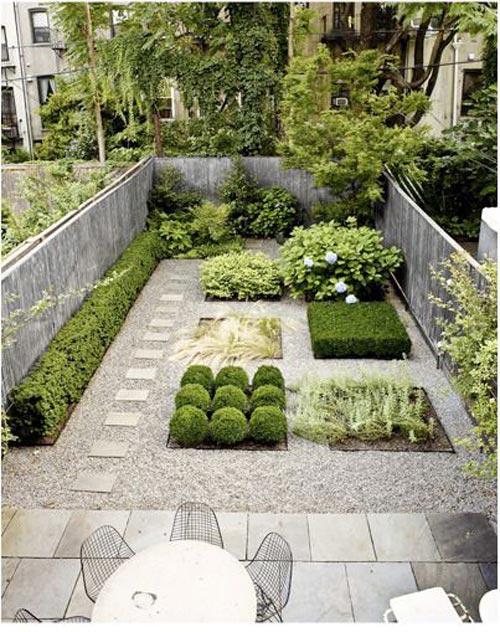 Zo richt je je kleine tuin in interieur inrichting - Rijtjeshuis fotos ...