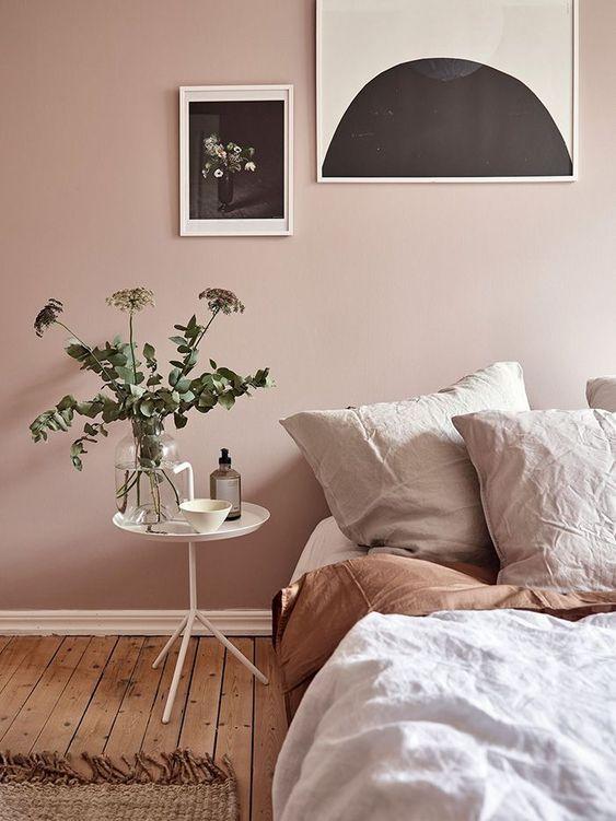 accentkleur roze
