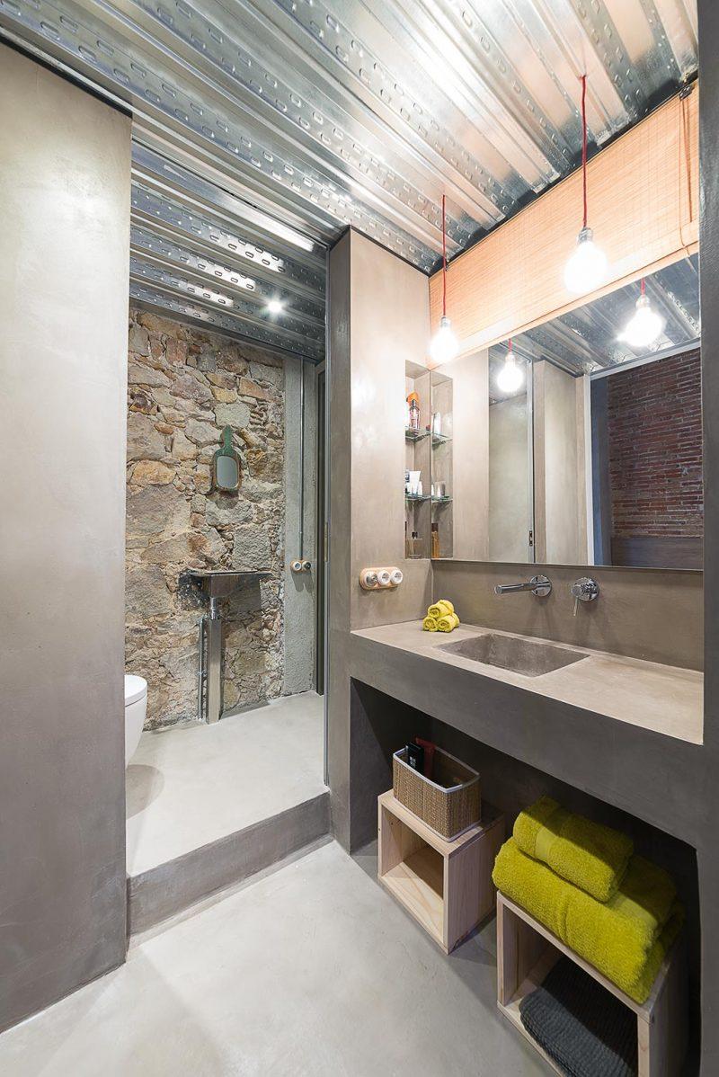Apart toilet in een stoere badkamer | Interieur inrichting
