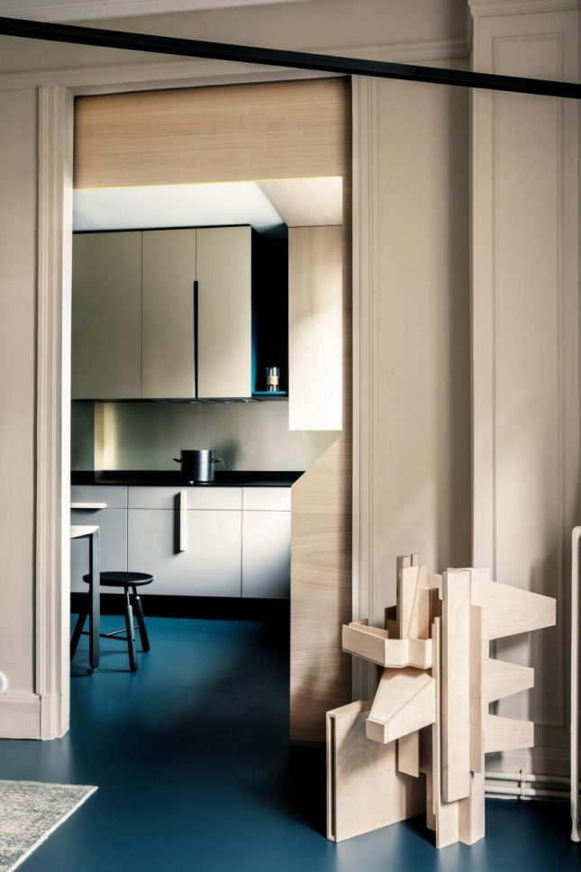 Appartement met een modern klassiek interieur interieur for Interieur appartement moderne