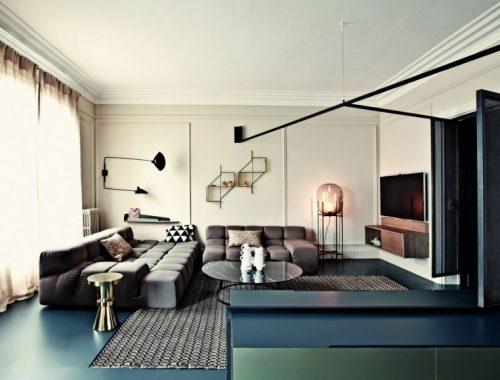 Appartement met een modern klassiek interieur