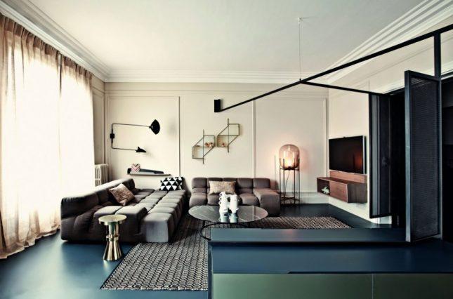 Appartement met een modern klassiek interieur | Interieur inrichting