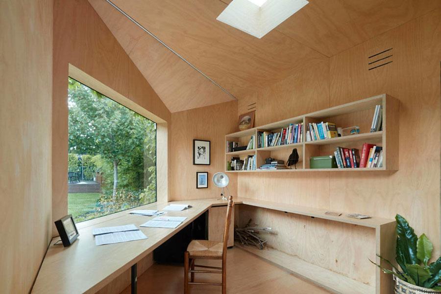 Australische architect heeft dit thuiskantoor/tuinhuisje voor een schrijver ontworpen!