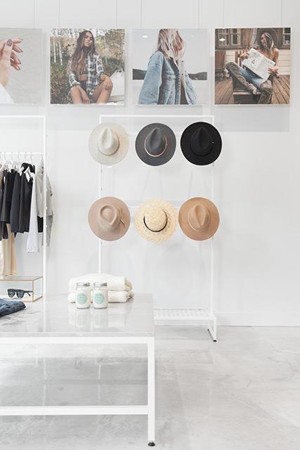 Avant-garde boutique La Manoir in Montreal