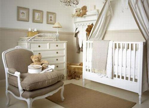baby slaapkamer inrichten